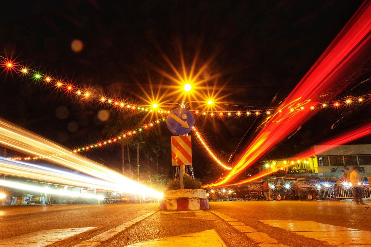 Luang Prabang di notte