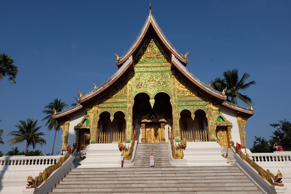 Palazzo reale Luang Prabang laos