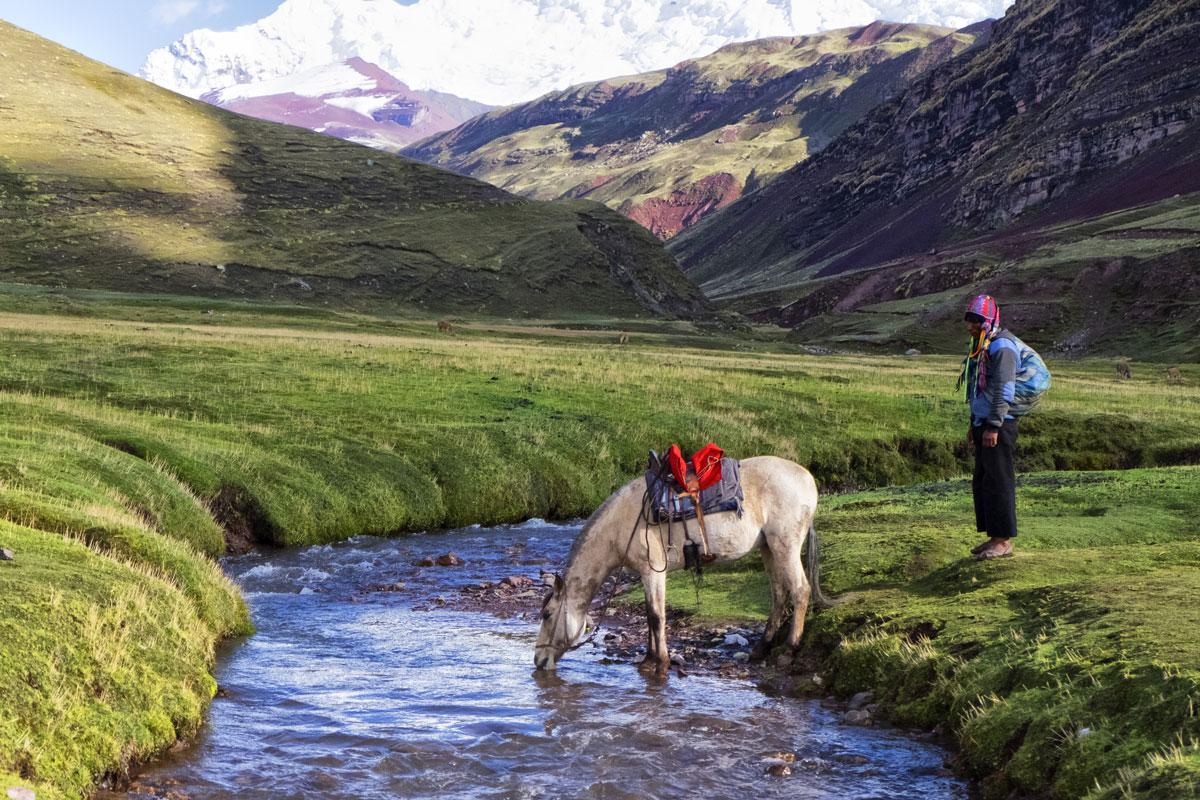 Come raggiungere le montagne arcobaleno in Perù