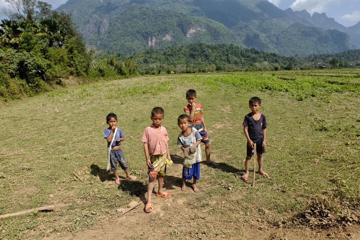 Laos zaino in spalla bambini