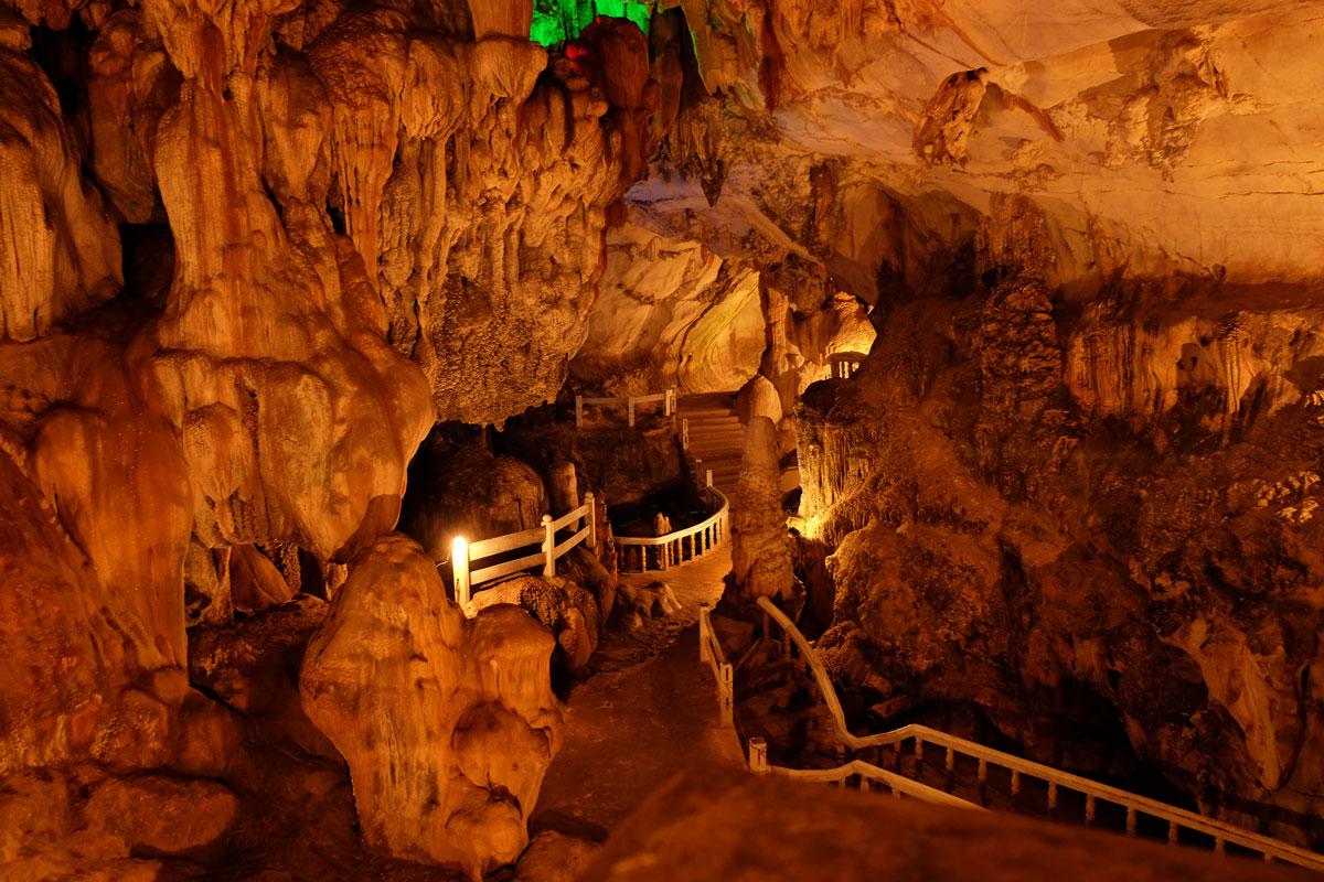 Grotte di Tham Chiang vicino Vang Vieng Laos