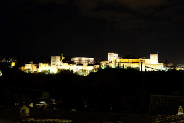 Alhambra by night