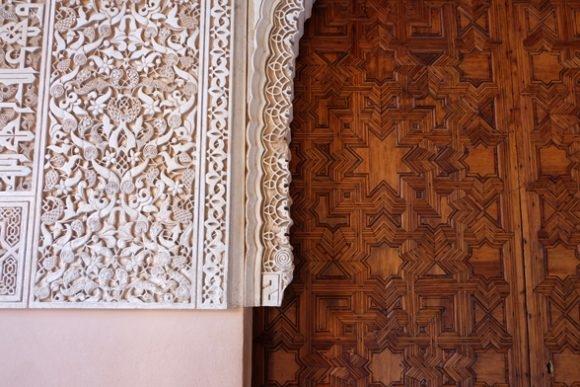 Lavori di grande pregio nell'Alhambra di Granada