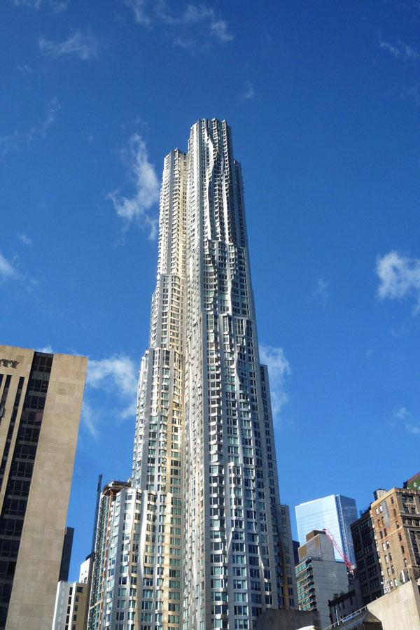 Grattacieli bizzarri a New York