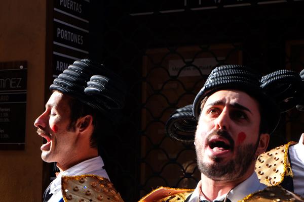 Cantanti al Carnevale di Cadice
