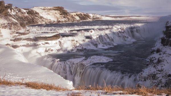 L'imponente cascata di Gullfoss
