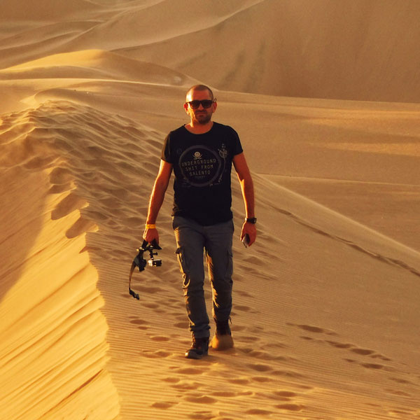 Dune di Huacachina in Perù