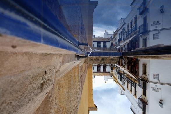 Fontana a Cordoba. Qual è la giusta prospettiva? :)