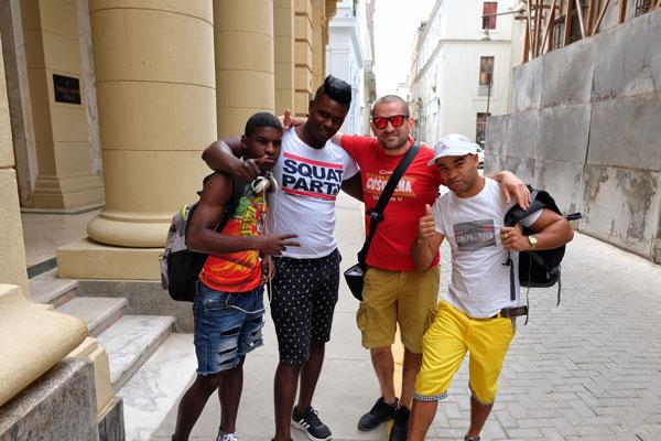 Giovani pugili a l'Havana