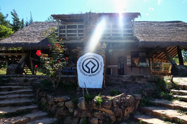 Ingresso sito di EL Fuerte a Samipata in Bolivia