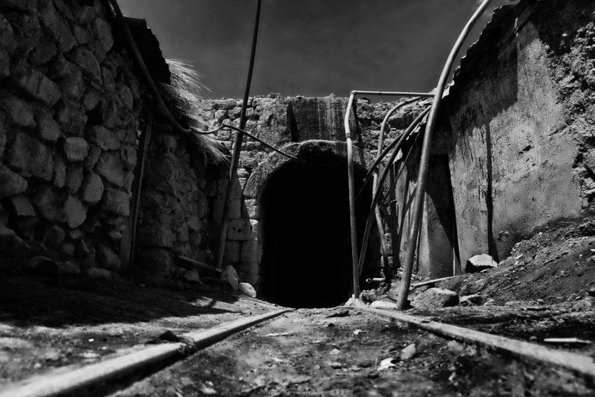 Ingresso miniera Potosì in Bolivia
