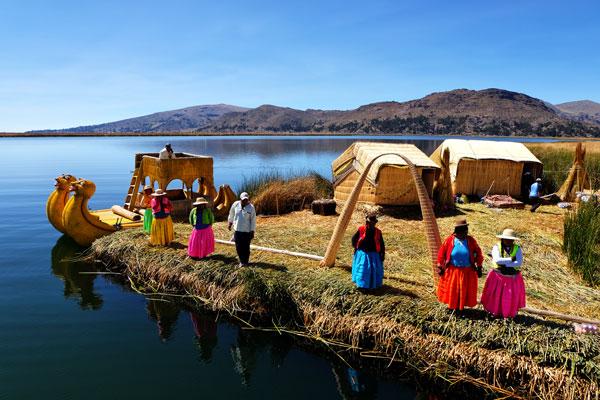 Uros, le isole galleggianti
