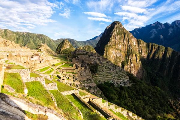 Machu Picchu all'alba