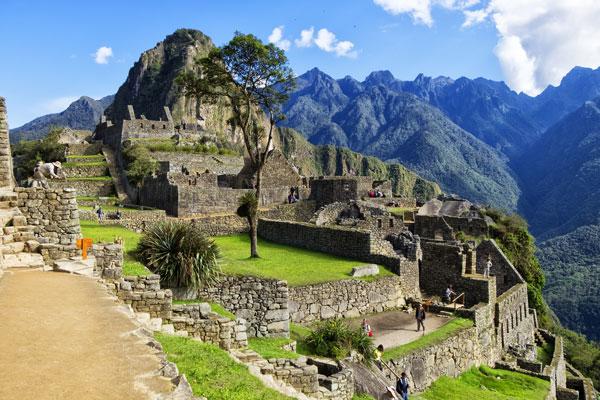 La cittadella inca di Machu Picchu