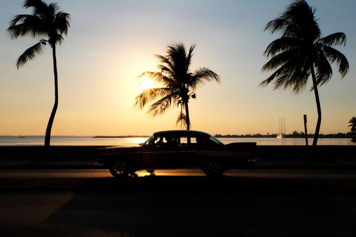 Malecon di Cienfuegos