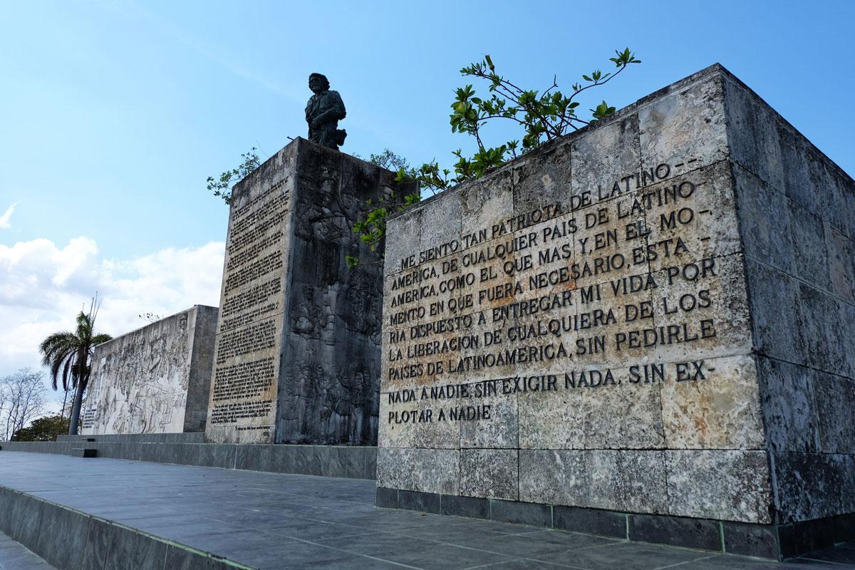 Mausoleo di Che Guevara a Santa Clara, imperdibile durante un viaggio a Cuba