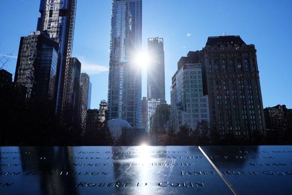 Il Ground Zero Memorial, uno dei luoghi più toccanti di New York