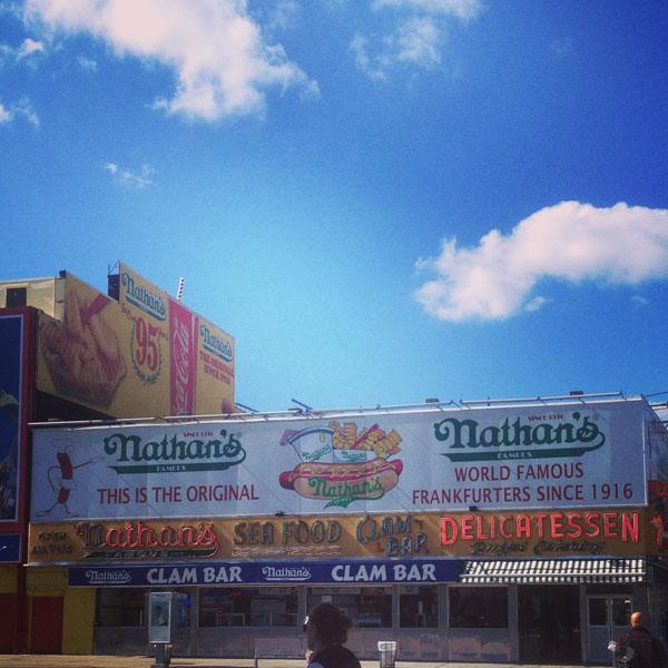Famous a Coney Island, un istituzione Newyorkese