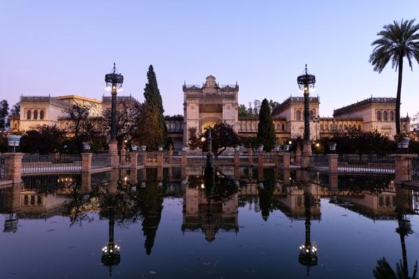 Palazzo andaluso a Siviglia