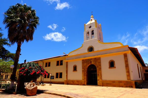 Piazza principale di Samaipata in Bolivia