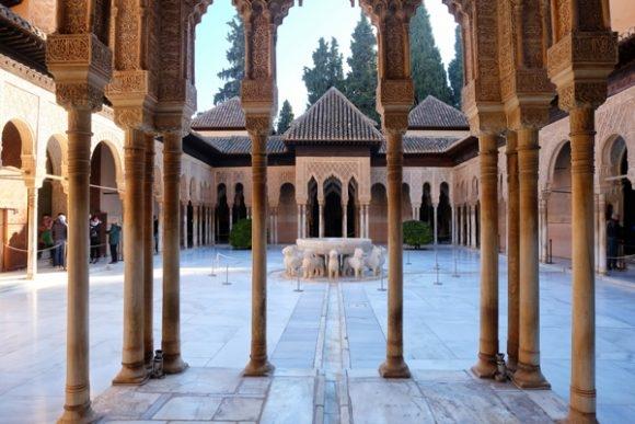 Dettagli nell'Alhambra