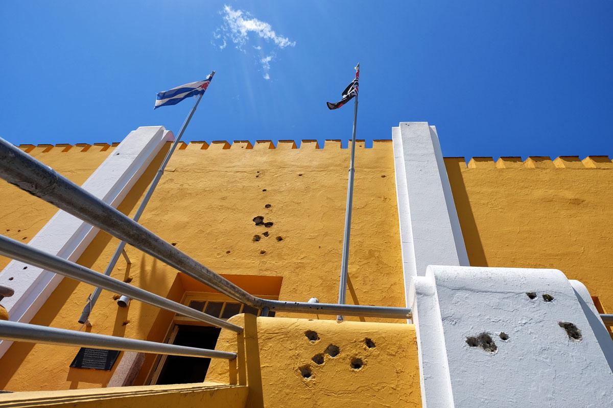 Scuola ex caserma Moncada a Santiago de Cuba