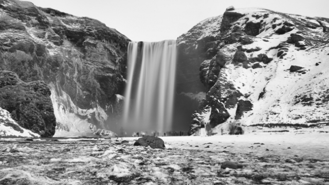 Un'altra meravigliosa cascata, Skógafoss