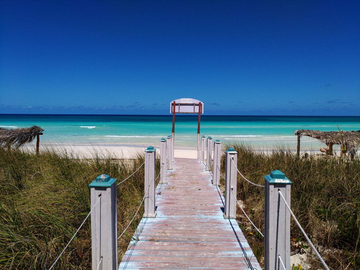 Spiaggia di Cayo Coco a Cuba