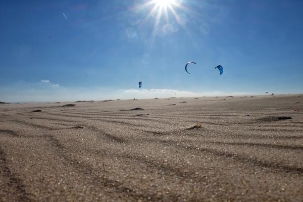 Spiaggia di Tarifa, meta prediletta dagli amanti del kitesurf