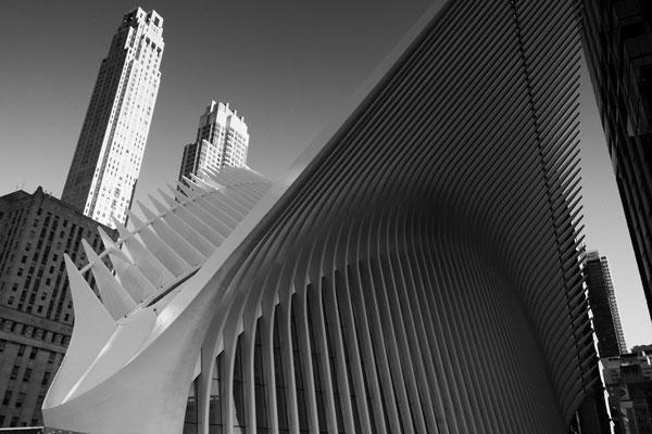 La maestosa stazione della Metro a Ground Zero