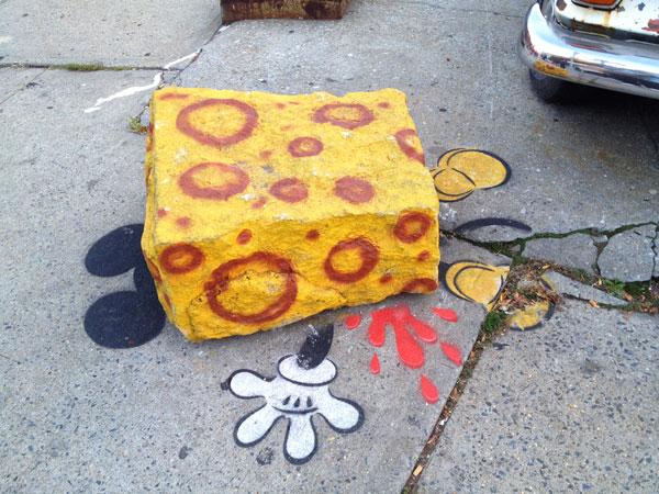 Street art ovunque a New York
