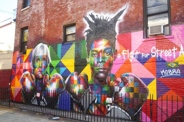 Migliaia di graffiti per le vie di New York