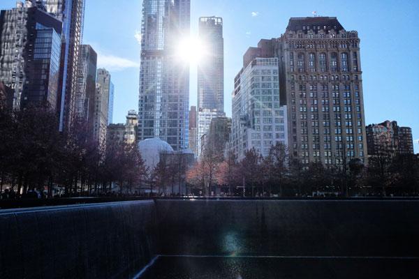 Vasca del Memorial a Ground Zero, New York