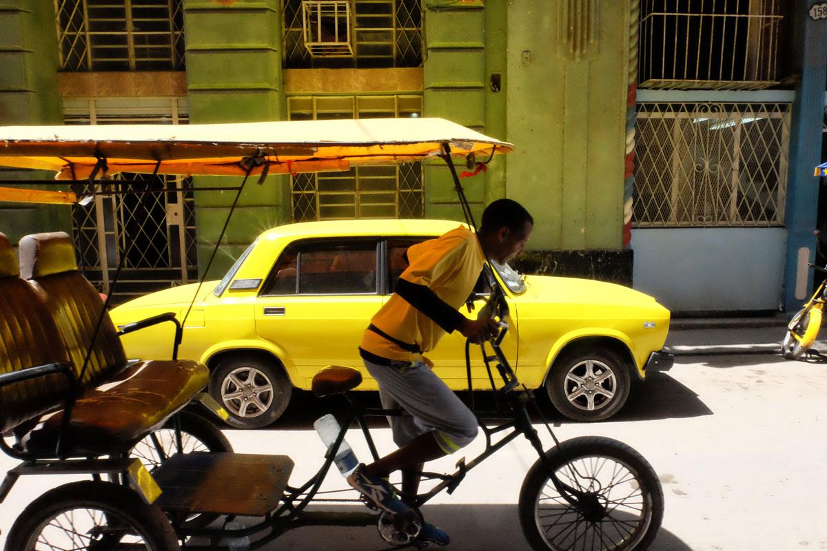 Bicitaxi a Cuba
