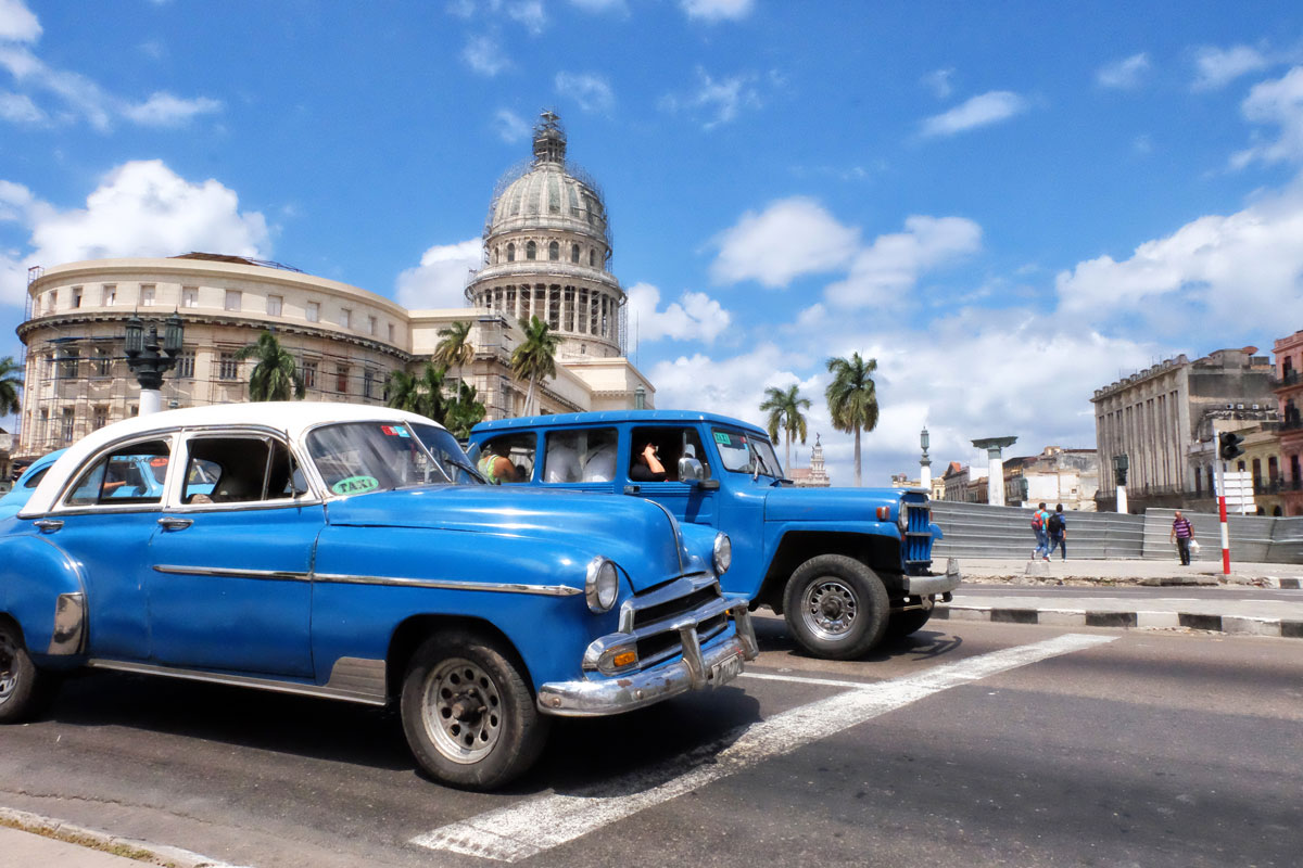 Auto americane anni'50 a l'Havana, Cuba