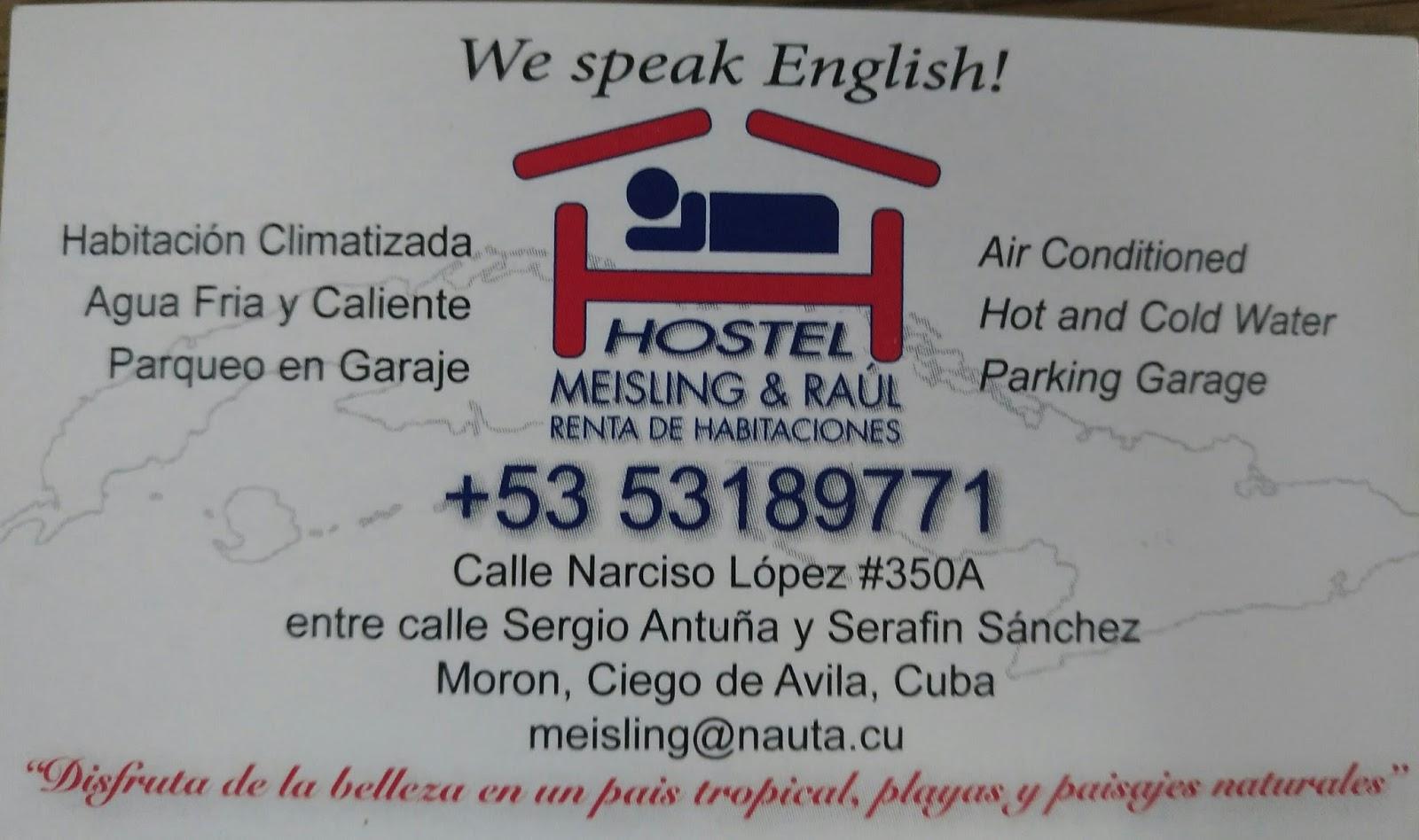 Casa particular Moron Cuba