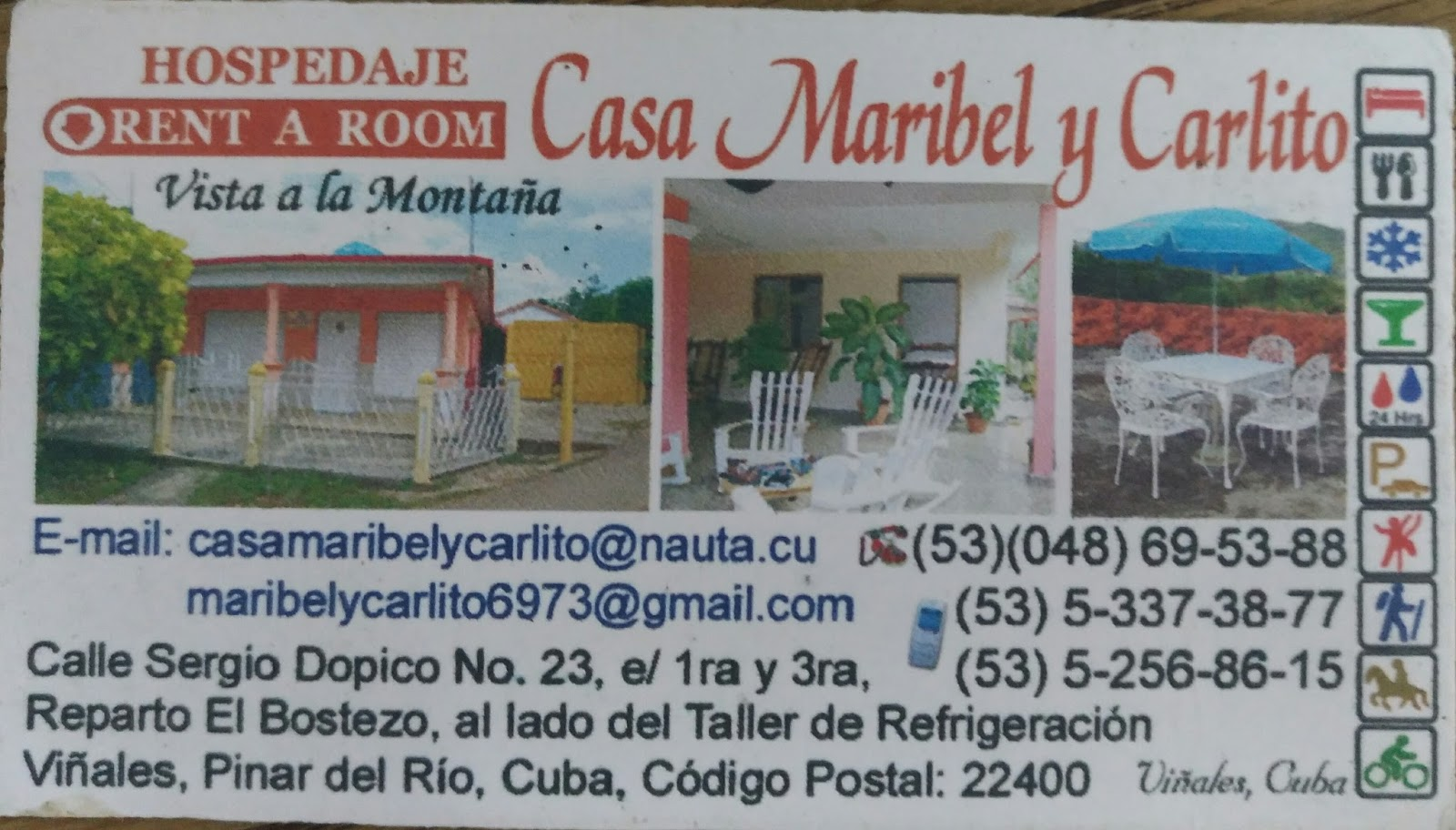 Casa particular Vinales Cuba