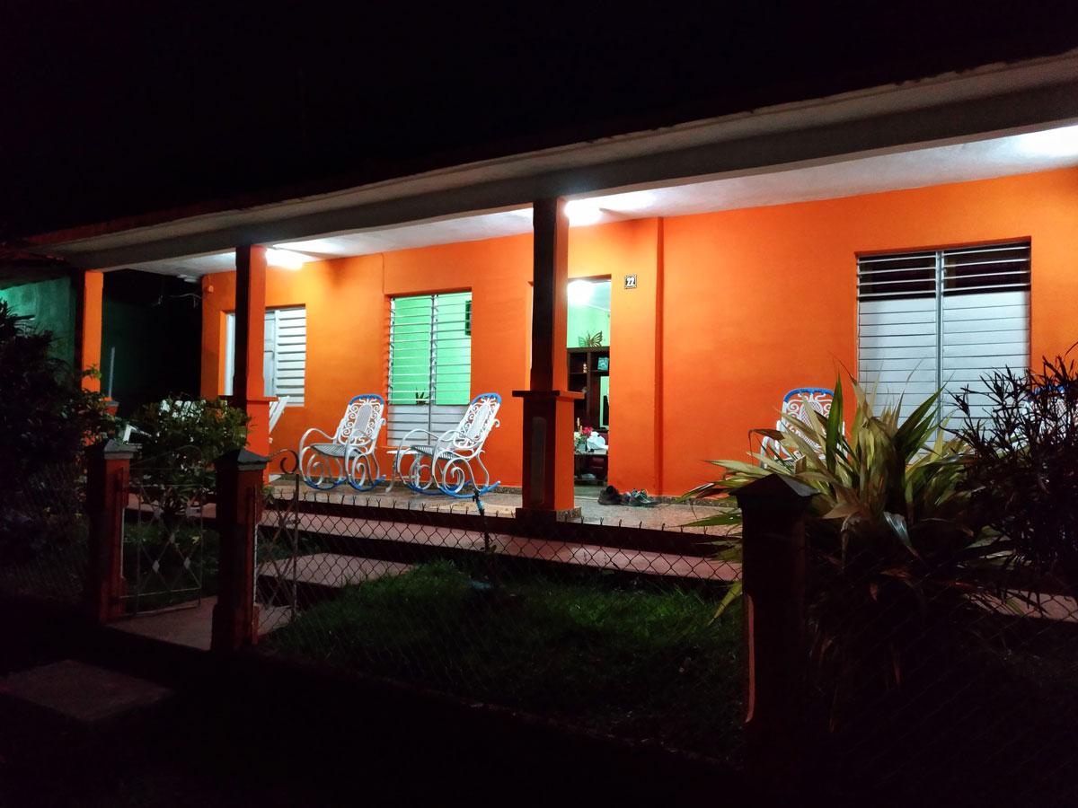 Tipico alloggio di un viaggio a Cuba, una casa particular di Vinales