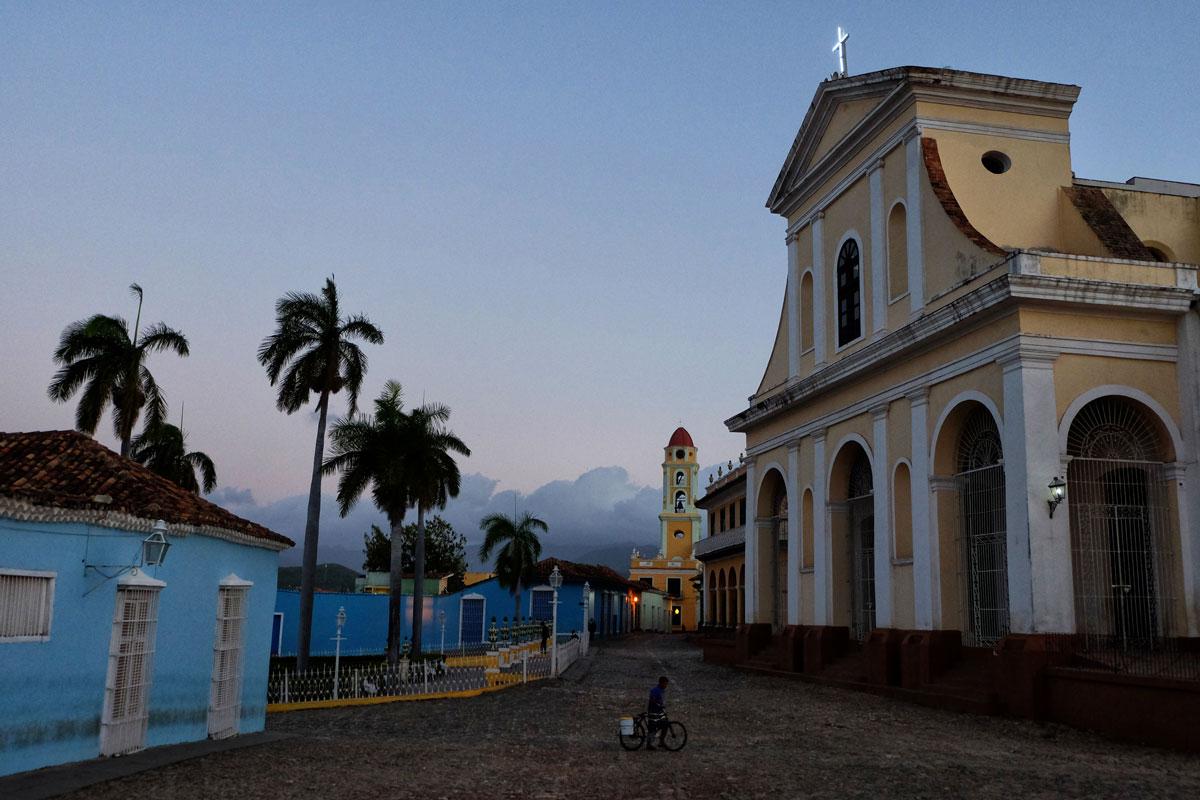 Centro storico deserto di Trinidad