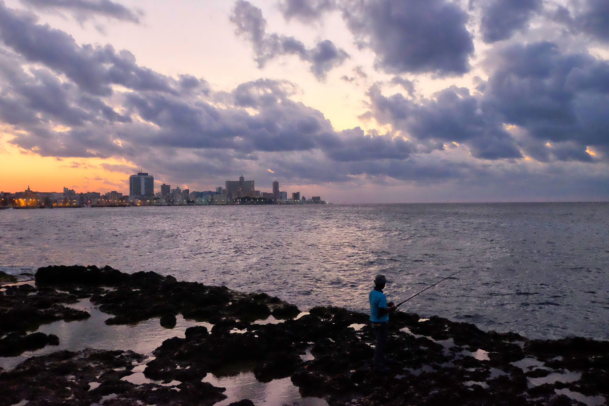 Malecon il lungomare de l'Havana,  Cuba