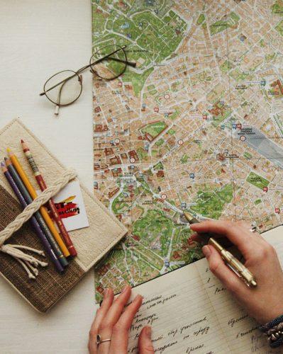una mappa per pianificare il tuo prossimo viaggio