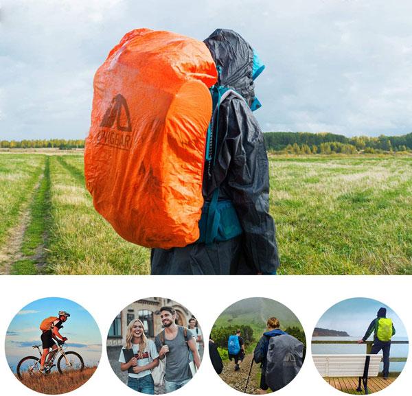 Come organizzare lo zaino da viaggio e proteggerlo dalla pioggia, con una pratica sacca