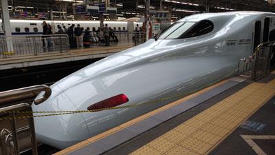 Skinkansen, il treno proiettile giapponese