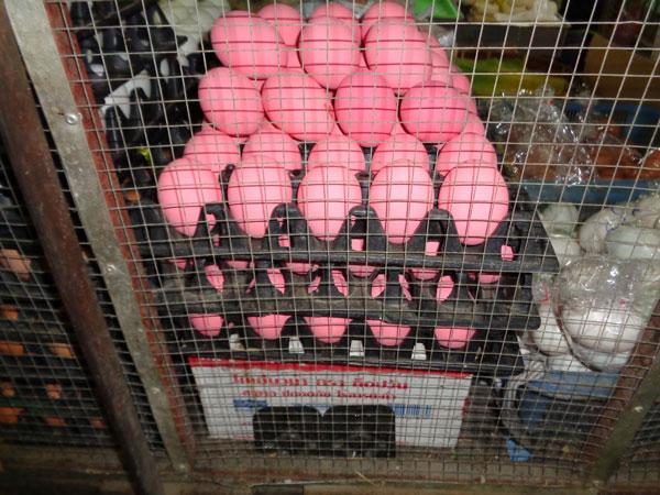 Uova rosa thailandesi