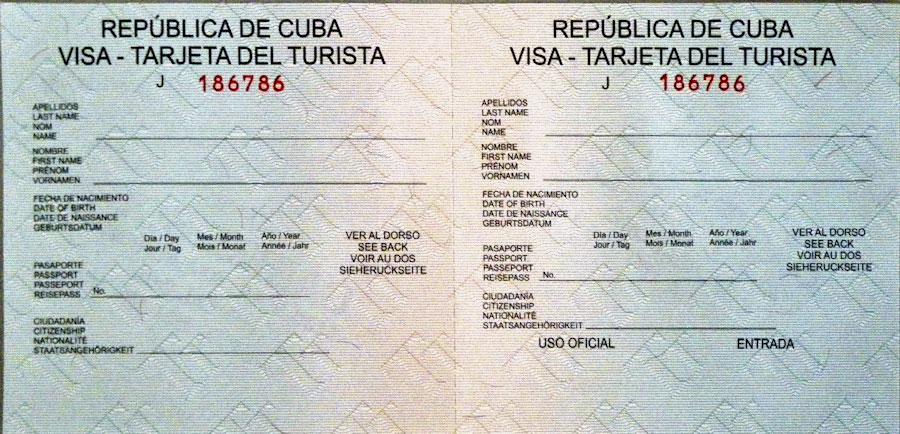 Come organizzare un viaggio a Cuba, cosa bisogna richiedere prima di partire: visto turistico, la Tarjeta del Turista