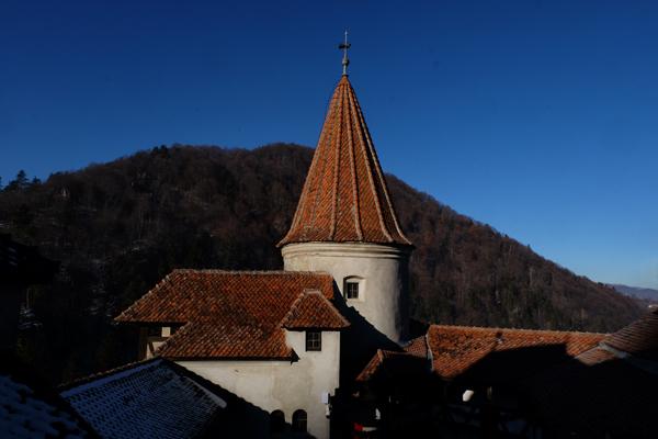 Una delle torrette del Castello