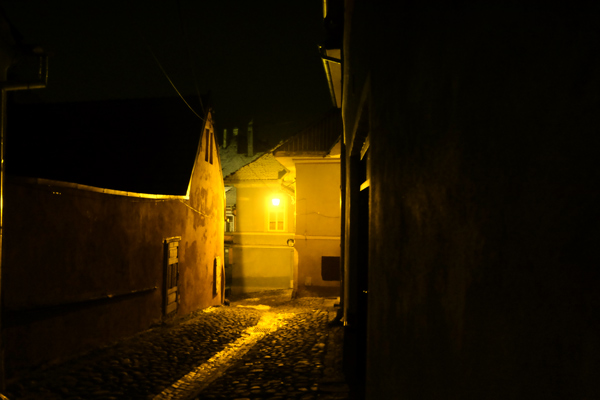 Sighisoara di notte