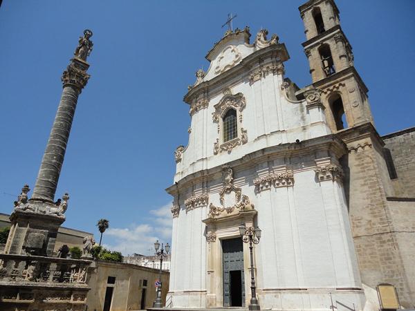 Chiesa e colonna di Sant'Andrea a Presicce