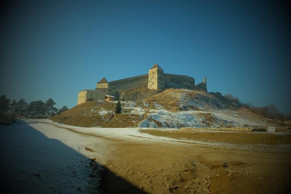 La cittadella fortificata di Rasnov