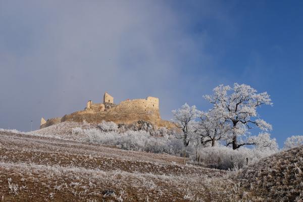 La bella cittadella fortificata Rupea Citadel